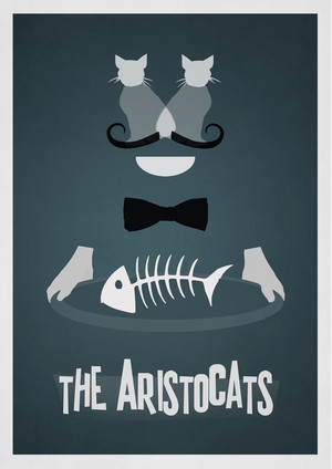 Retro Poster - The Aristocats