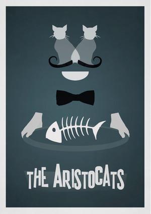 Retro Poster - The Aristocats