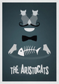 Retro Poster - The Aristocats - classic-disney photo