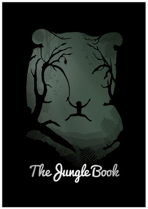 Retro Poster - The Jungle Book