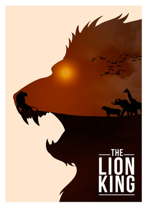 Retro Poster - The Lion King