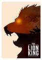 Retro Poster - The Lion King - classic-disney photo