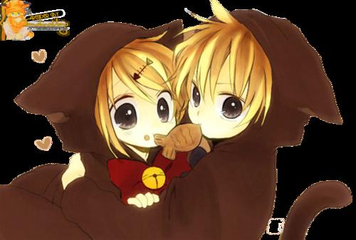 vocaloid hình nền titled Rin and Len
