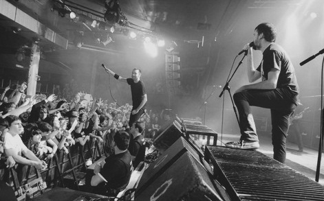 Rise Against wallpaper with a konser entitled Rise Against - The Black Market - 2014