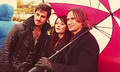 Robert, Coline and Emilie - once-upon-a-time photo