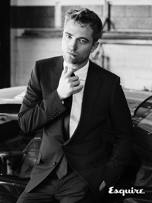 Robert Pattinson,UK Esquire photoshoot