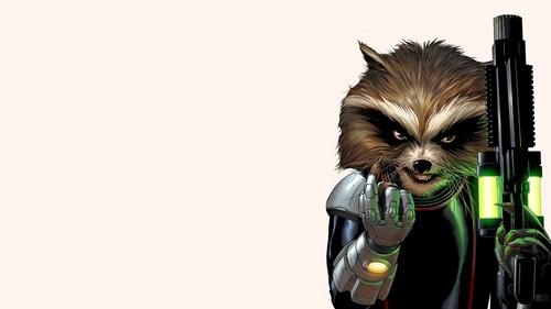Guardians of the Galaxy 바탕화면 titled Rocket Raccoon