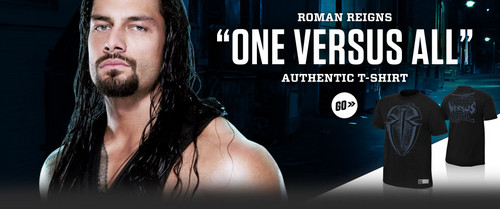 "The Shield (WWE) wallpaper probably containing a sign entitled Roman Reigns ""One Versus All"" T-Shirt"