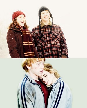 Ron And Hermione Fanart
