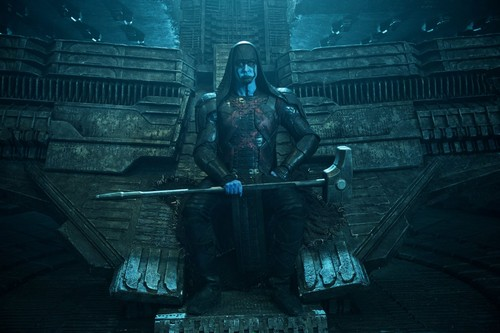 Guardians of the Galaxy 바탕화면 titled Ronan The Accuser