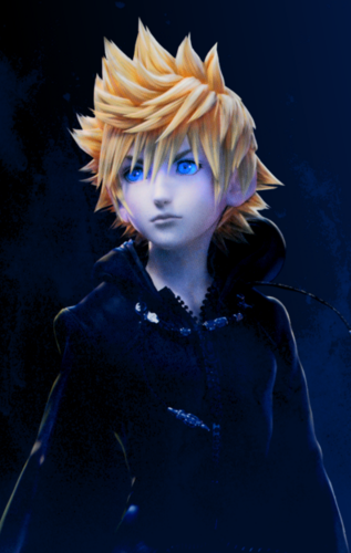 Kingdom Hearts wallpaper called Roxas modifica from the KH1.5 Launch Event Poster
