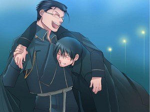 Roy mustang and Maes Hugues