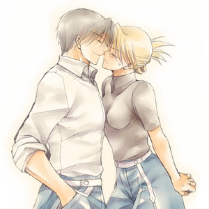 Roy mustang and Riza Hawkeye (Royai)