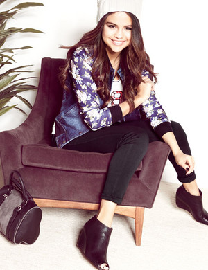 "Selena for her Fall/Winter 2014 ""Dream Out Loud"" Collection"