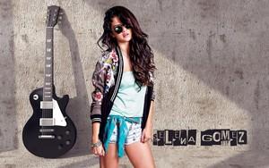 Selena gomez gitaar