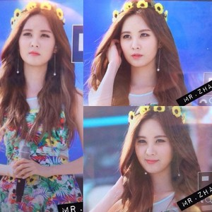 Seohyun At Blue One Water Park