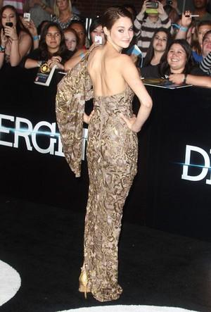 Shai at the Divergent premiere