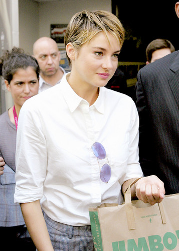 Shailene Woodley wallpaper possibly with a business suit and a packing box called Shailene ♥
