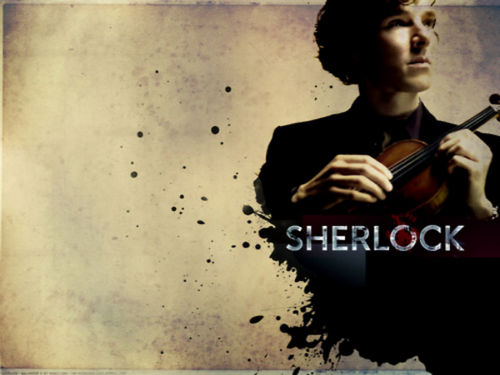 Sherlock Holmes BBC1 Wallpaper With A Violist Titled