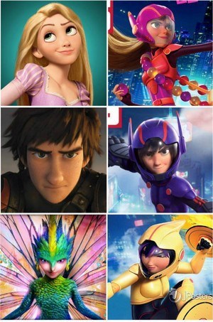 Similarities Between Disney and Non Disney Characters