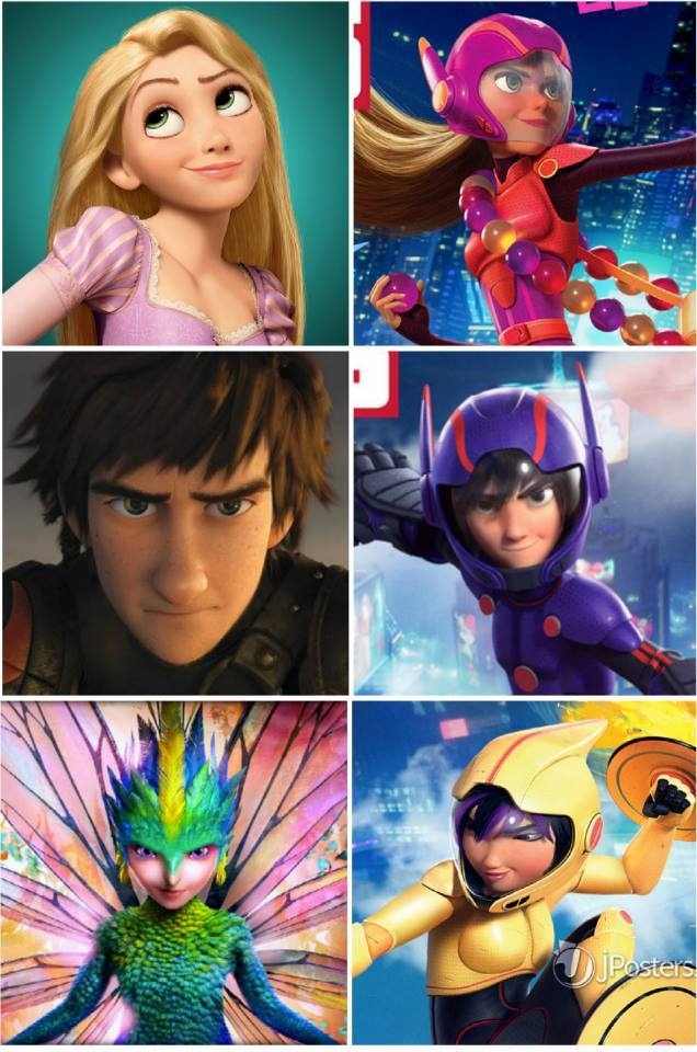 Similarities Between Disney and Non Disney Characters