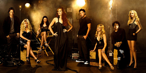 televisie achtergrond containing a concert entitled Smallville, Seeker, Vampire diaries