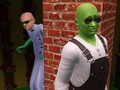 Sneak up on him while he does weird stuff with his mouth - the-sims-3 photo
