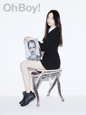 Sohee for 'Oh Boy!'