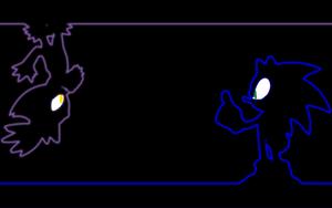 Sonaze Neon achtergrond