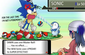 Sonic Is NOT A Pokemon