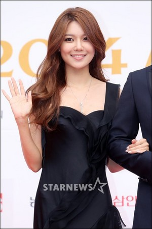 Sooyoung at the 2014 Miss Korea Red Carpet