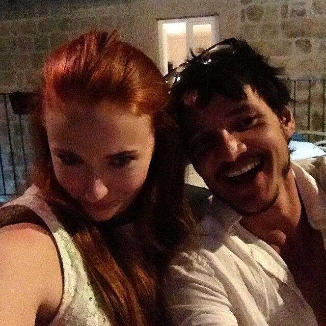 Sophie Turner and Pedro Pascal