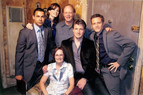 Stanathan and Castle's cast-BTS