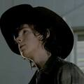 Staring at something? - chandler-riggs photo