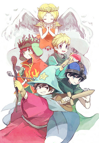 South Park karatasi la kupamba ukuta containing anime entitled Stick of Truth [Anime Style]