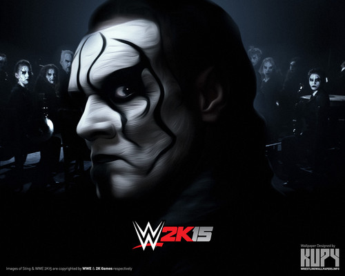 WWE Обои entitled Sting - WWE 2K15