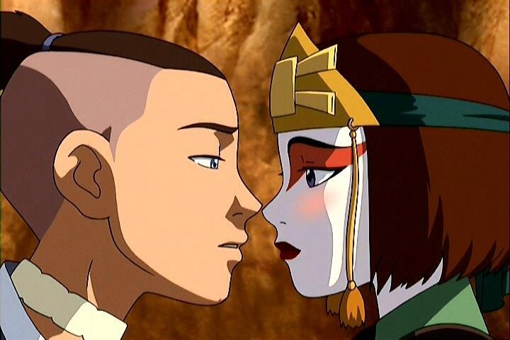 last airbender suki and the Avatar katara