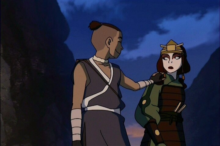 sokka and suki meet joe