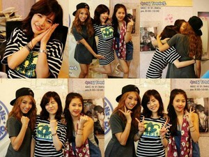Sunny with Bora and Yewon From MBC FM 날짜