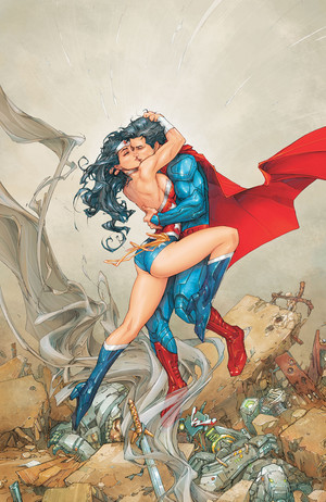 Superman/Wonder Woman cover
