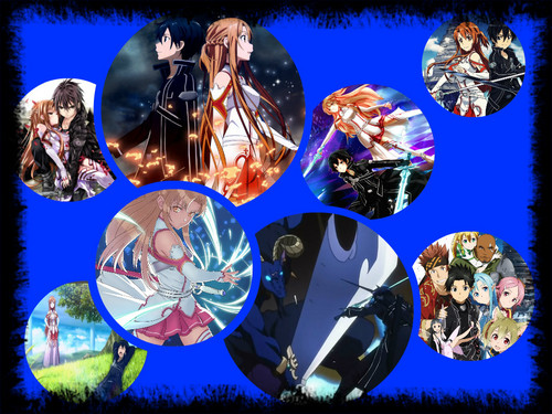 Sword Art Online wallpaper called Sword Art Online Circles