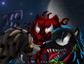 Symbiote Brothers - alpha-and-omega fan art