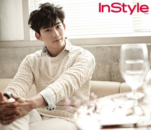 Taecyeon for 'InStyle' August 2014 Issue