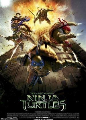 Teenage Mutant Ninja Turtles (2014) - Australian Poster