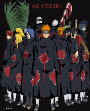 The Akatsuki.