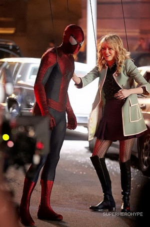 The Amazing Spider-Man 2 - Set 写真