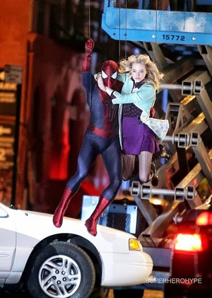 The Amazing Spider-Man 2 - Set fotografias