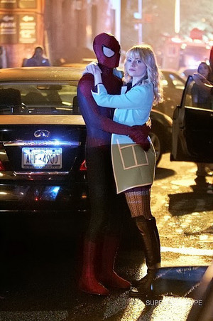 The Amazing Spider-Man 2 - Set foto
