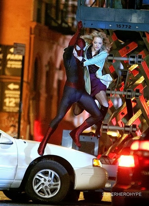 The Amazing Spider-Man 2 - Set Photos