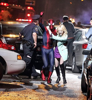 The Amazing Spider-Man 2 - Set picha